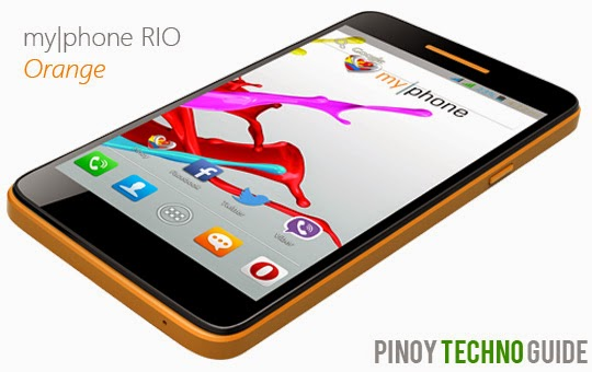 MyPhone RIO Orange
