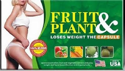 Jual Pelangsing Badan Herbal Fruit Plant - Jakarta
