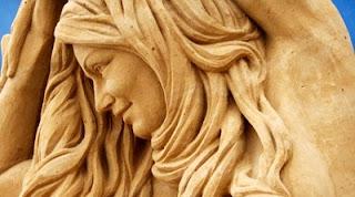 Sabbia nei capelli