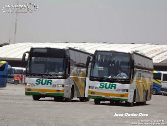Autobuses en Mexico - August 2014