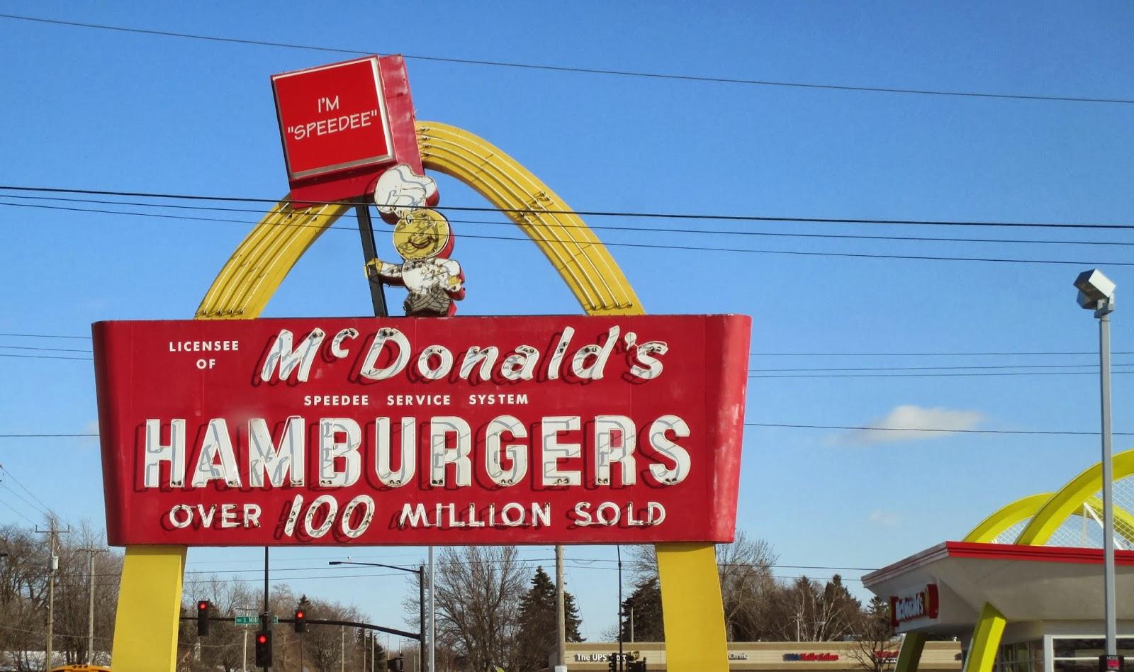 mcdonalds speedee service system