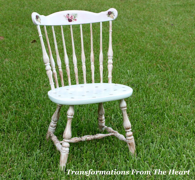 DIY Shabby Chic chair