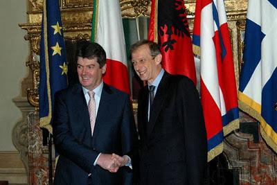 Presidente Albania a Torino accolto da Sindaco , feste ed Eventi sugli albanesi