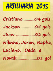 NOSSOS GOLEADORES: