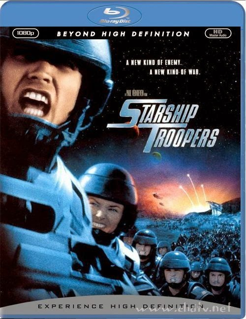 Starship Troopers 1997 Hindi Dual Audio 720P BRRip 1GB, English movie Starship troopers 1 1997 Hindi Dubbed 720P Blu Ray BrRip 900MB Download or watchonline at world4ufree.cc