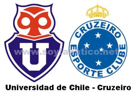 Universidad de Chile Cruzeiro Copa Libertadores 2014
