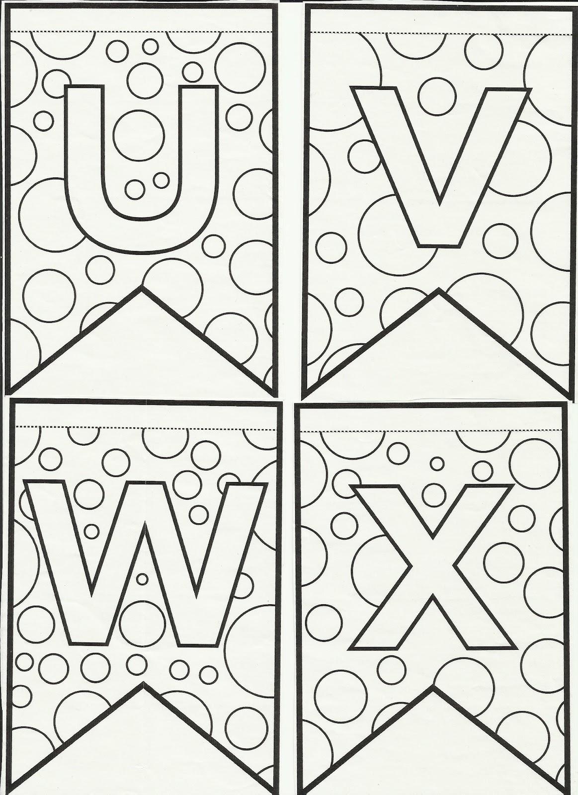 blog professor zezinho   letras do alfabeto bandeirinhas
