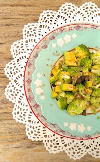RECETA! Ensalada de palta y brócoli con aderezo delicioso. www.soyunmix.com