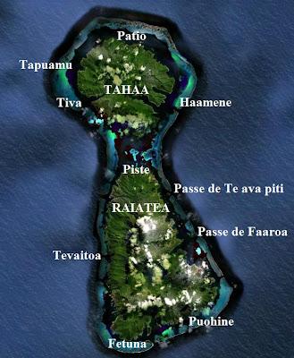 Bora Bora Raiatea Huahine