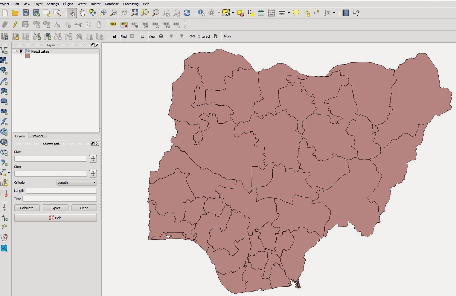 How to download free gis street map of nigeria from openstreetmap at this stage you need to install the openlayers plugin which allows you connect to the osm server and download the vector data gumiabroncs Gallery