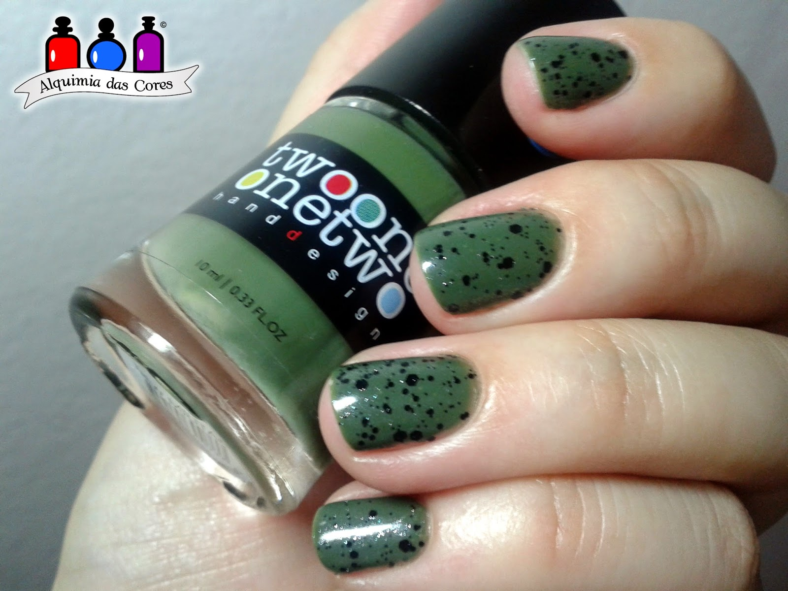 Two One One Two, New Militar, verde, verde militar, glitter, preto, Colorama, Cremoso, Pop Up, nail polish, esmalte, Caminie