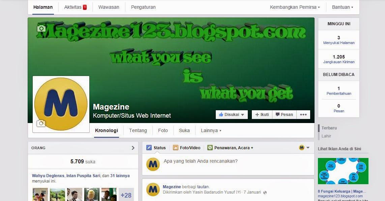 halaman fans page