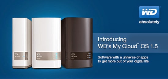 WD My Cloud OS 1.5