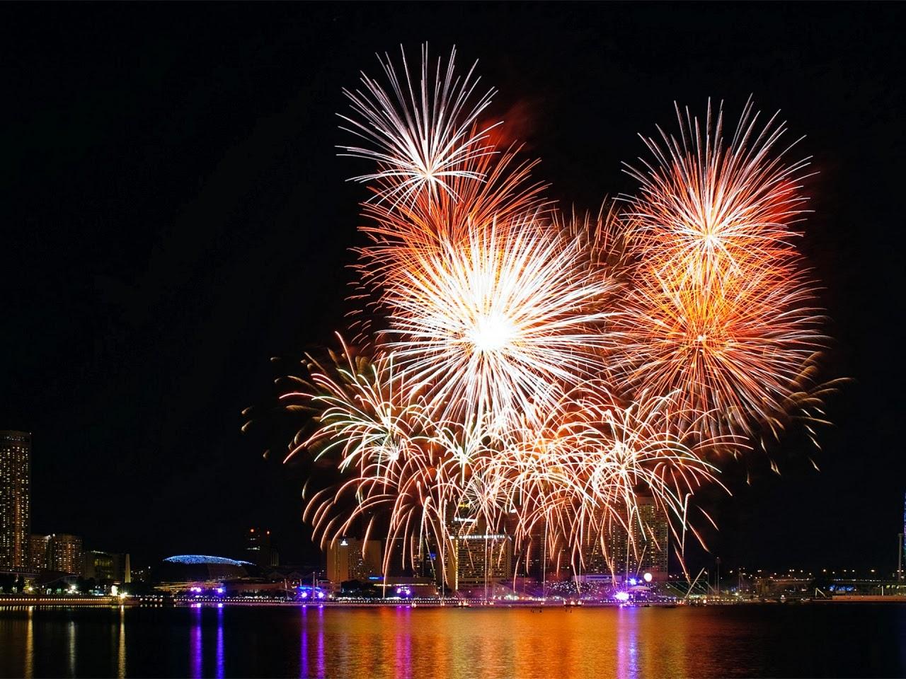 ... en marcha rituales para alejar la mala suerte en el año nuevo para