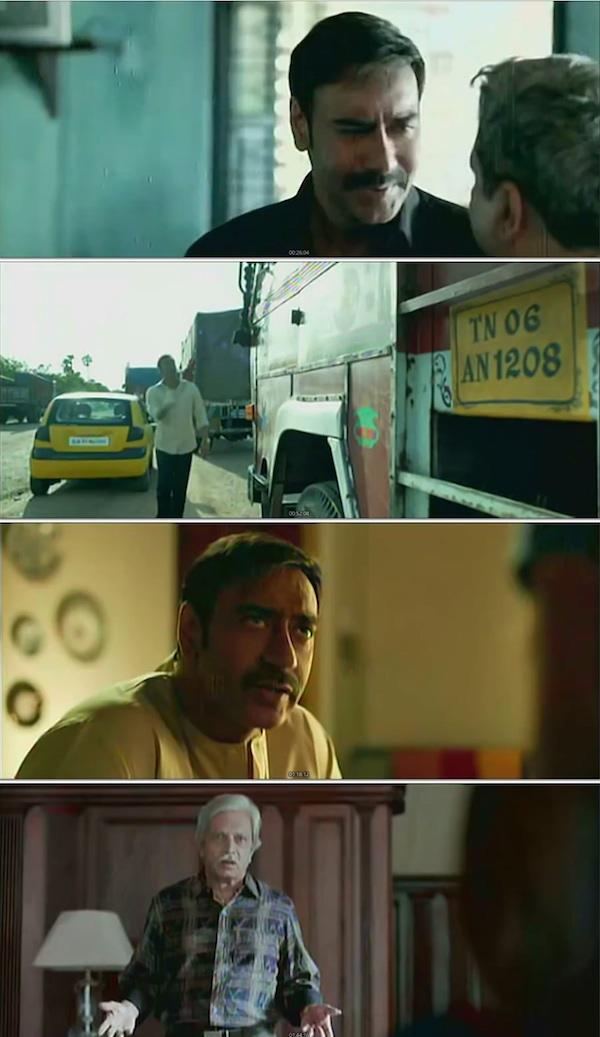 Drishyam Hindi DVDScr 600mb