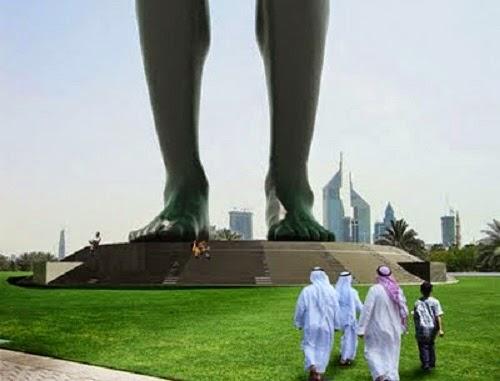 BERHALA TERTINGGI DI DUNIA DUBAI