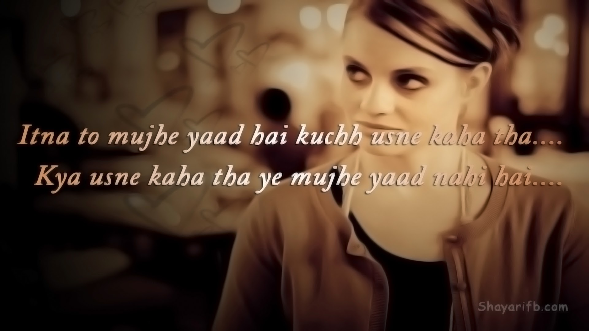 Beautiful Hindi Shayari for True Love Wallpapers