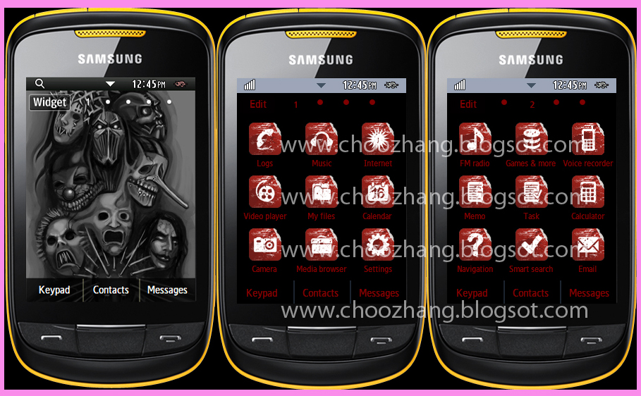 download games to mobile phone for free samsung themes gt-s3850