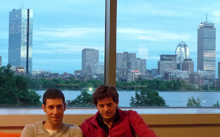 arevalo's team in NERD building (Boston)