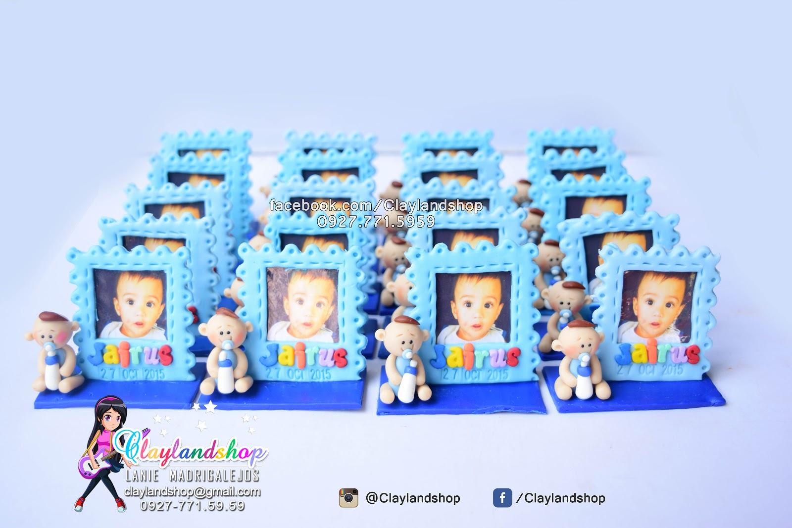 Clayland Souvenir Shop: Baby Picture Frame Souvenir