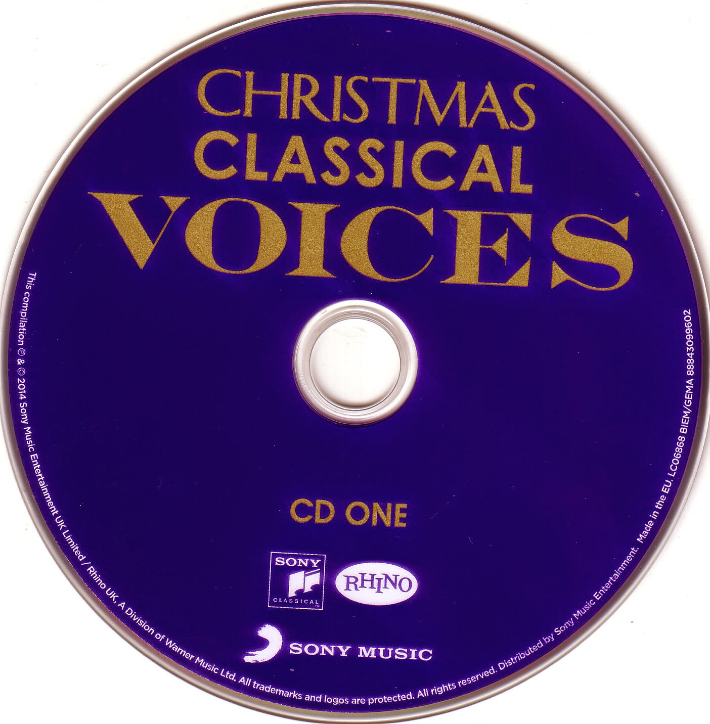 Christmas Classical Voices CD1