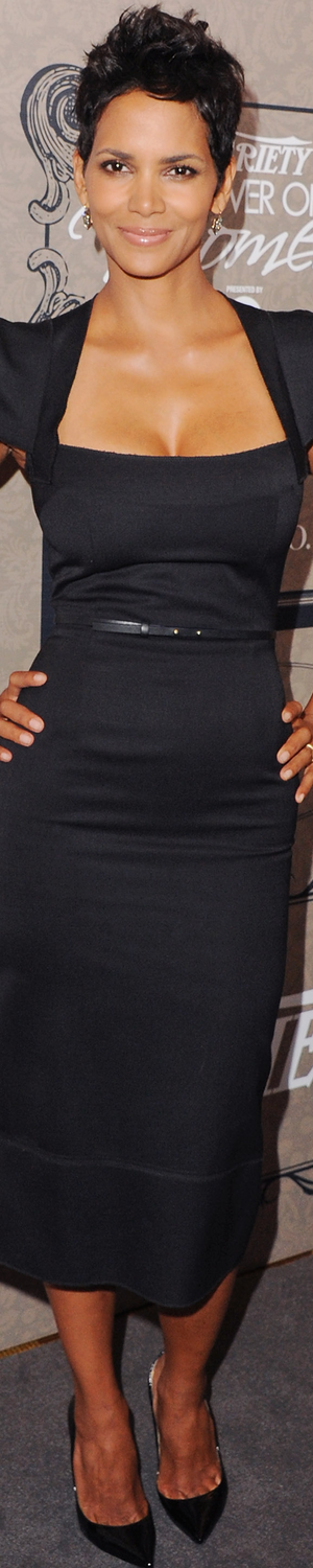 Halle Berry in Roland Mouret 2005 Variety Power of Women Event