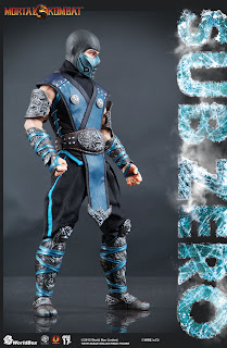 "Worldbox 1/6 Scale Mortal Kombat 12"" Sub-Zero Figure"