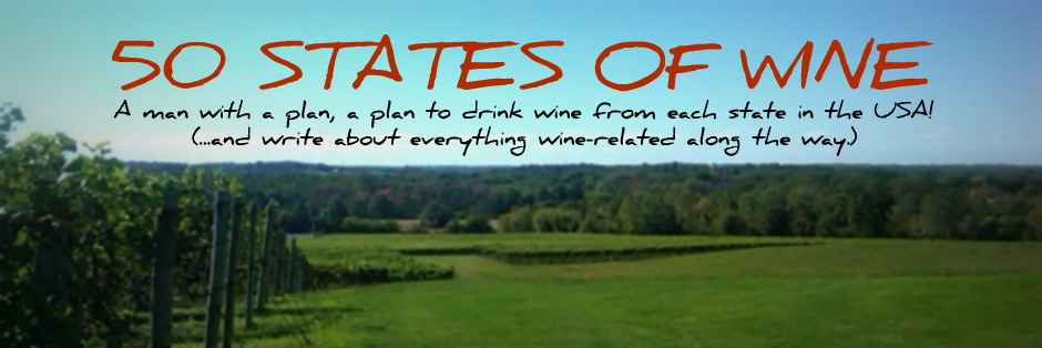 50 States of Wine - A Food and Wine Blog