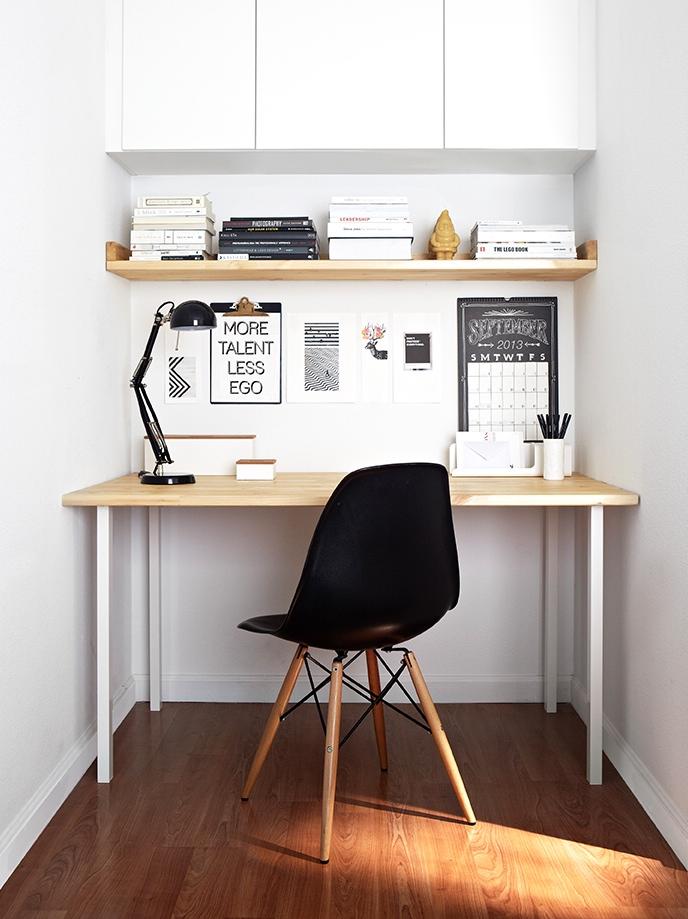 angolo studio - blog arredamento - Creare Angolo Studio In Soggiorno 2