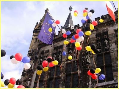 Celebración Francia Alemania
