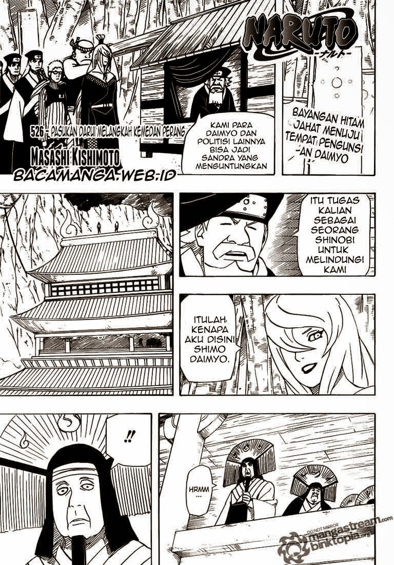 Naruto - Chapter:526 - Page:01
