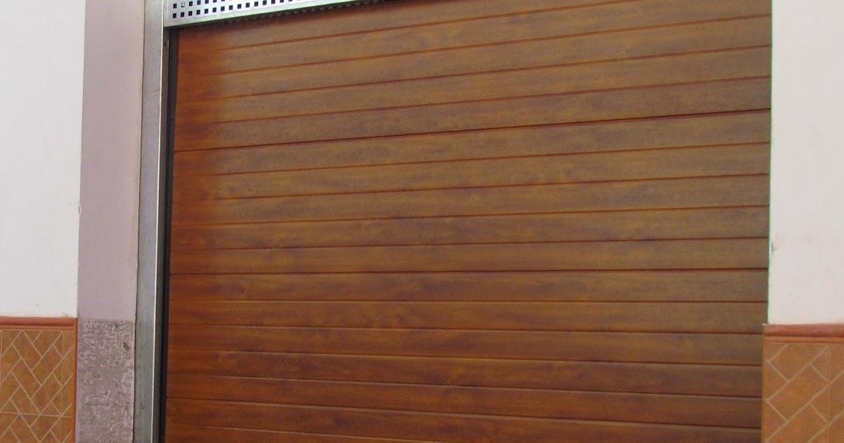 Acero inoxidable tenerife puertas garaje tipo seccional tenerife - Puertas metalicas roper ...