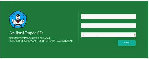 Petunjuk Penggunaan Aplikasi Raport Kurikulum 2013 Kemdikbud
