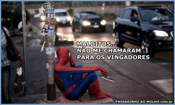 vingadores, homem aranha