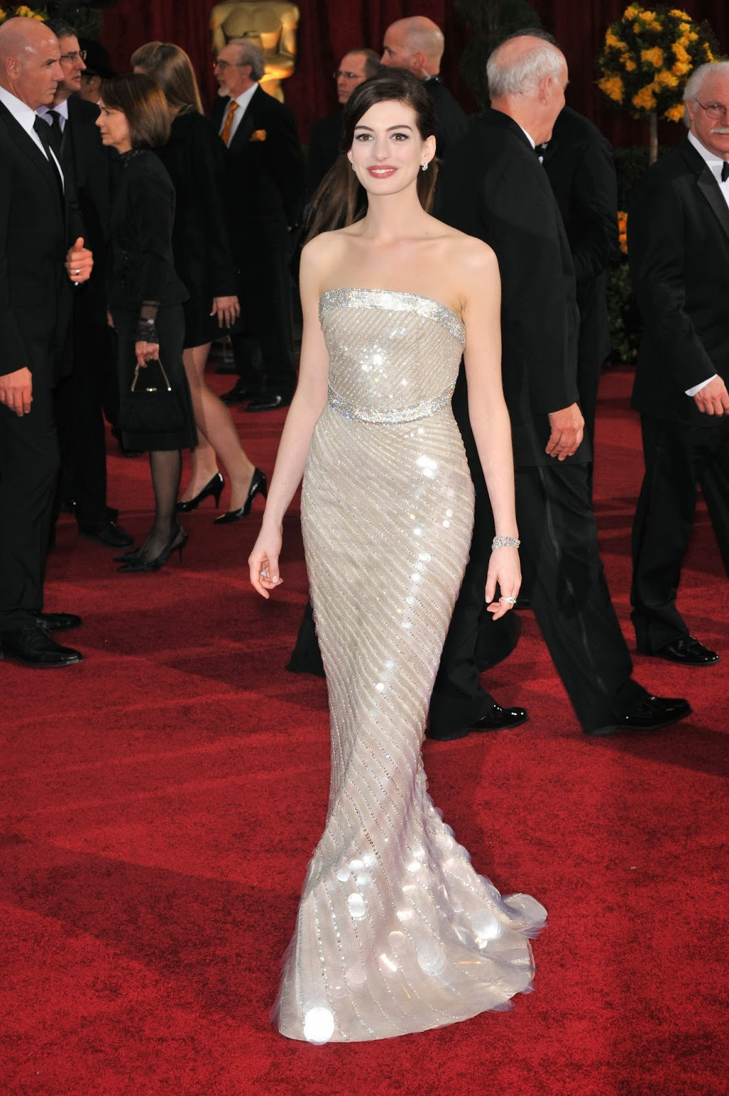 To Be My Chic Bride Get Inspiration From Anne Hathaway39s Wearing