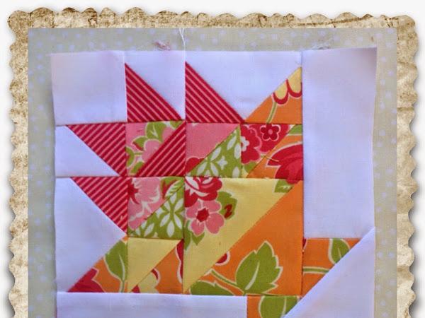 Chatelaine- Free BOW Sampler Quilt Block 29