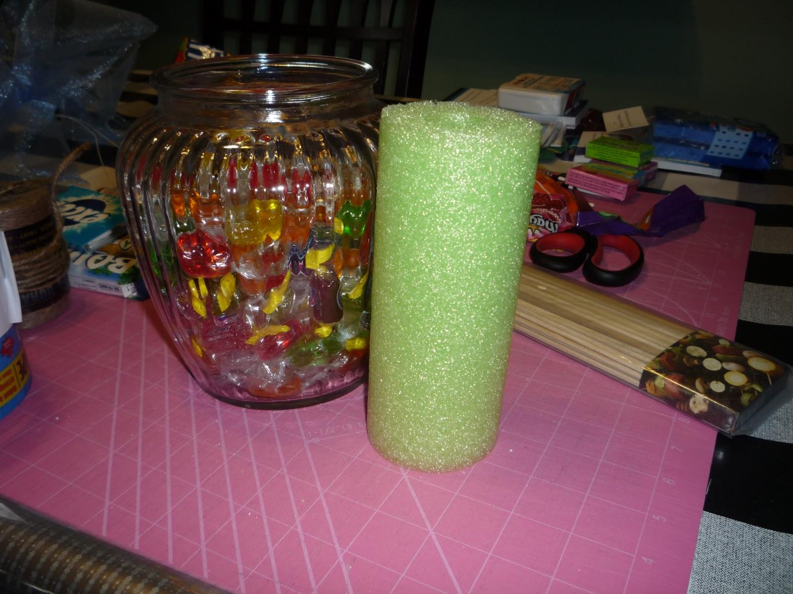 Hard Candy Bouquet DIY