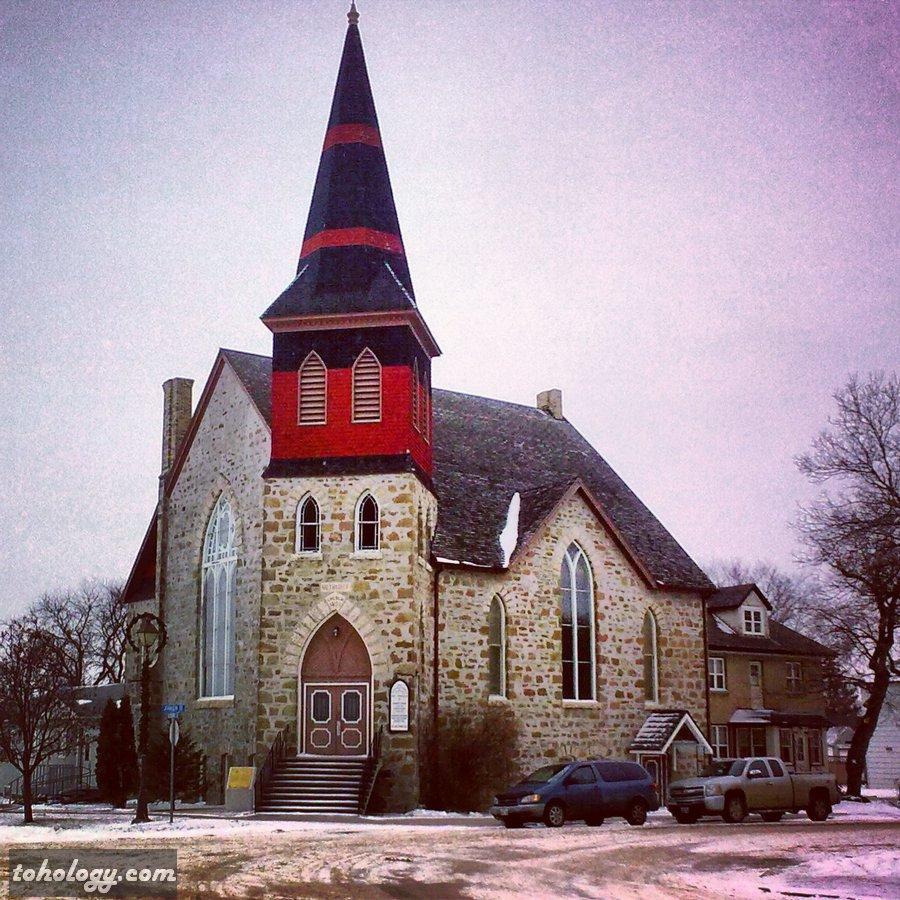 Boissevain (the church) Canada