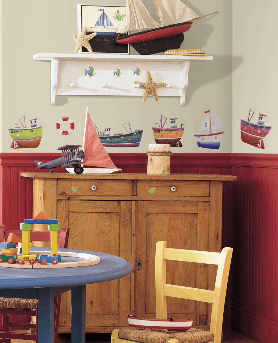 Nautical Themed Kids Room : Nautical by Nature blog: Nautical Playrooms and Childrens Bedrooms
