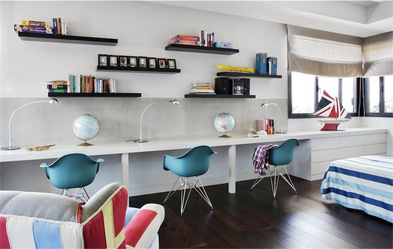 diseño de interiores espacio juvenil