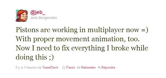 Pistons Minecraft 1.7