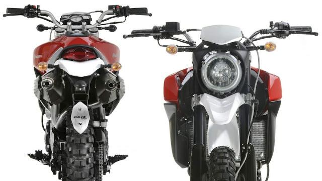 Husqvarna Baja Concept , Steve McQueen-Husqvarna , Steve McQueen, Husqvarna, concept motorcycle, EICMA,