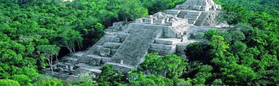 La Piramide Maya El Mirador en Guatemala