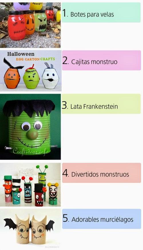 Selección de 5 DIY infantiles para Halloween