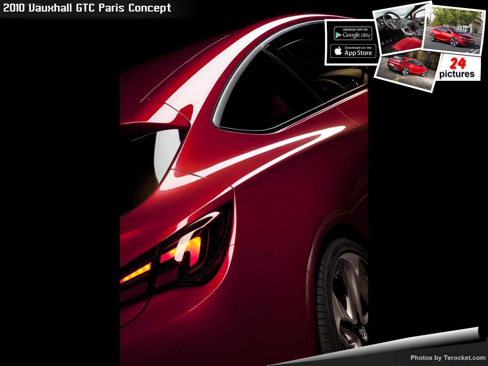 Hình ảnh xe ô tô Vauxhall GTC Paris Concept 2010 & nội ngoại thất