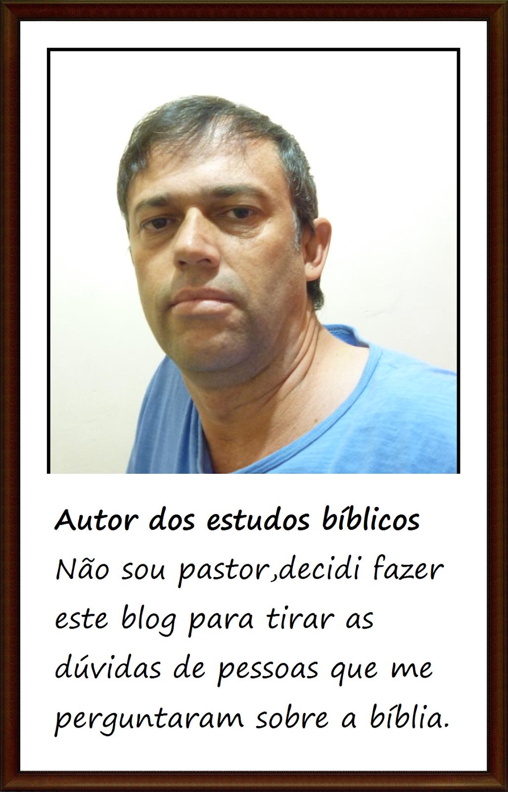 O autor dos estudos bíblicos