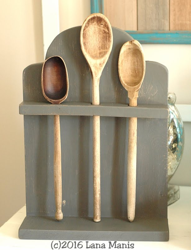 Tombstone Spoon Rack