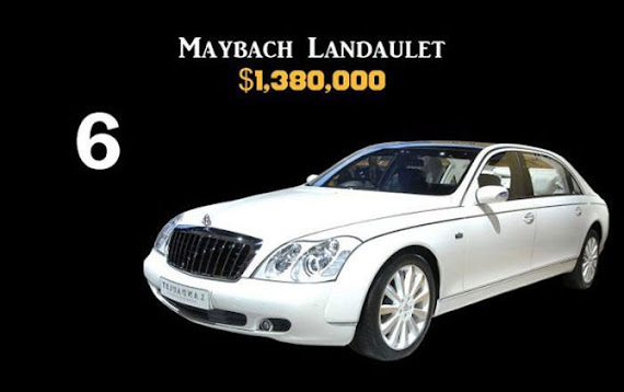 Maybach Landaulet $1,380,000