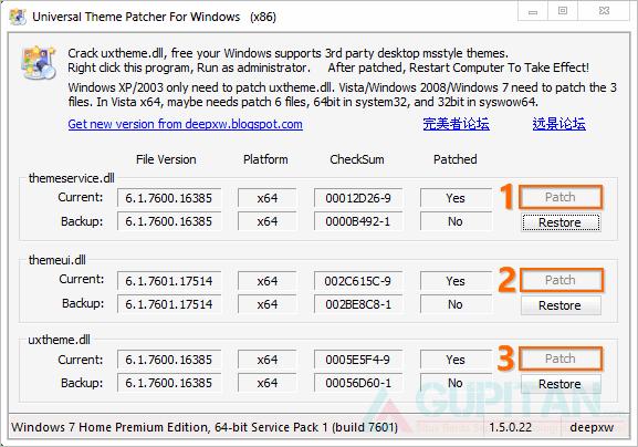 Cara Mengubah Tampilan Windows 7 Seperti Windows XP 1