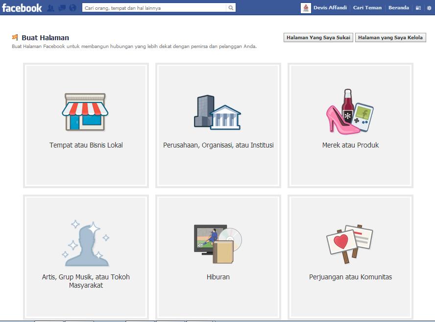 membuat fan page,fan page facebook,info blogging,mudah dan cepat membuat fan page